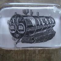 Glass Advertising Paper Weight  £40